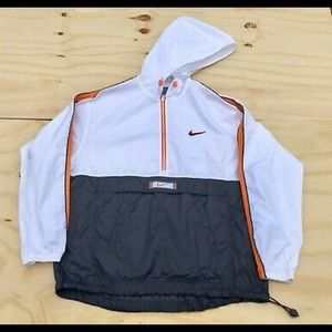 Nike Womens Zipper Windbreaker Jacket L